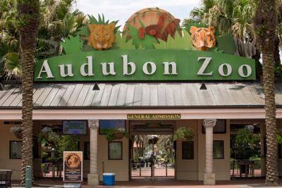 Audubon Zoo entrance