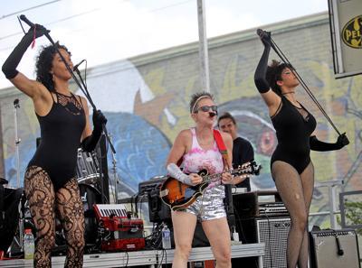Valerie Sassyfras is set to smoke at Bayou Boogaloo Friday (copy)