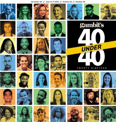 Gambit's 40 Under 40 2020 cover