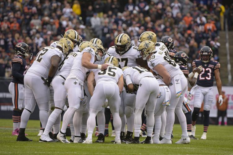 Saints at Falcons score: Taysom Hill takes over first half, New Orleans holds off late rally in win
