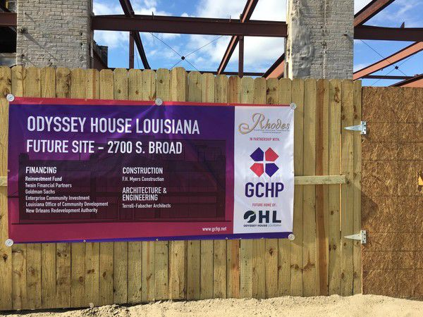 More beds for addiction treatment are coming to New Orleans, with new Odyssey House facility