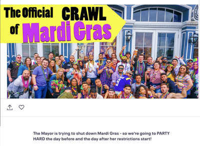 the dumbest bar crawl of all