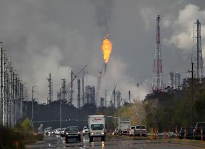 Shell Chemical flaring (copy)