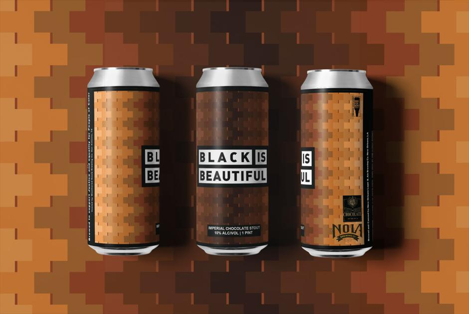 New Orleans-brewed Black Is Beautiful beers are now being released