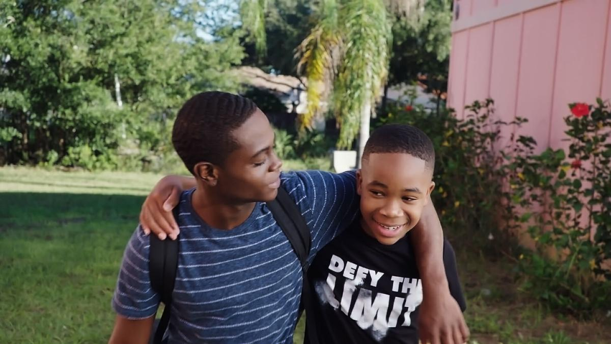 Cayden Williams and Akili McDowell
