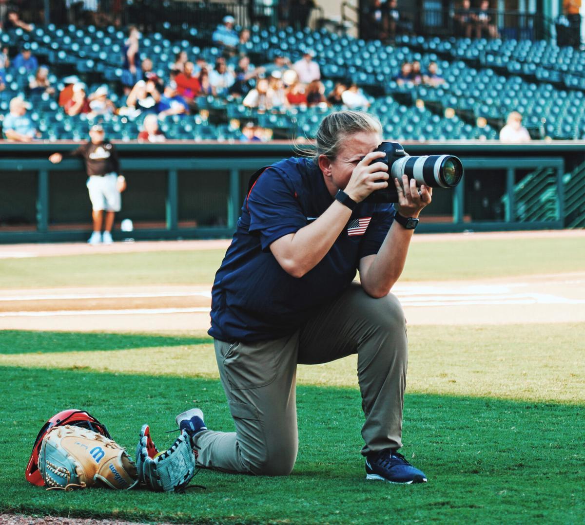 Fontainebleau's Jade Hewitt official Team USA Softball photographer