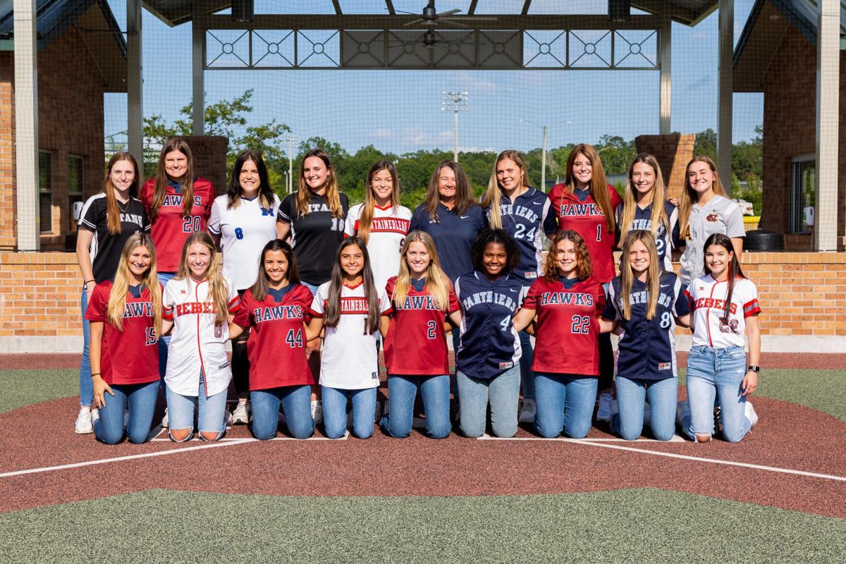 The 2021 Fab Farmer All-St. Tammany Softball Players