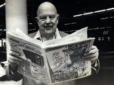 Did James Beard teach you to cook during this New Orleans visit?