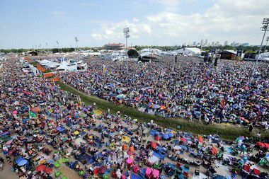 Quint Davis on New Orleans Jazz Fest crowds: 'We want them to be comfortable'