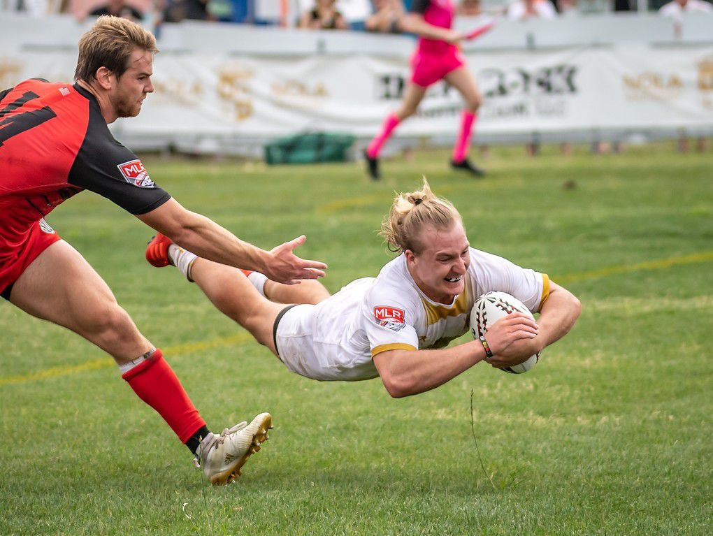Saints Mining Gold New Orleans Rugby
