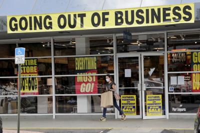 File photo of coronavirus unemployment store closing