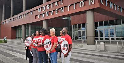 Unite Here Protests Proposed Convention Center Hotel Project