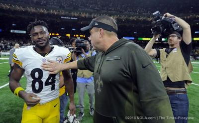 Sean Payton: Saints haven't reached out to Steelers about Antonio Brown (copy)