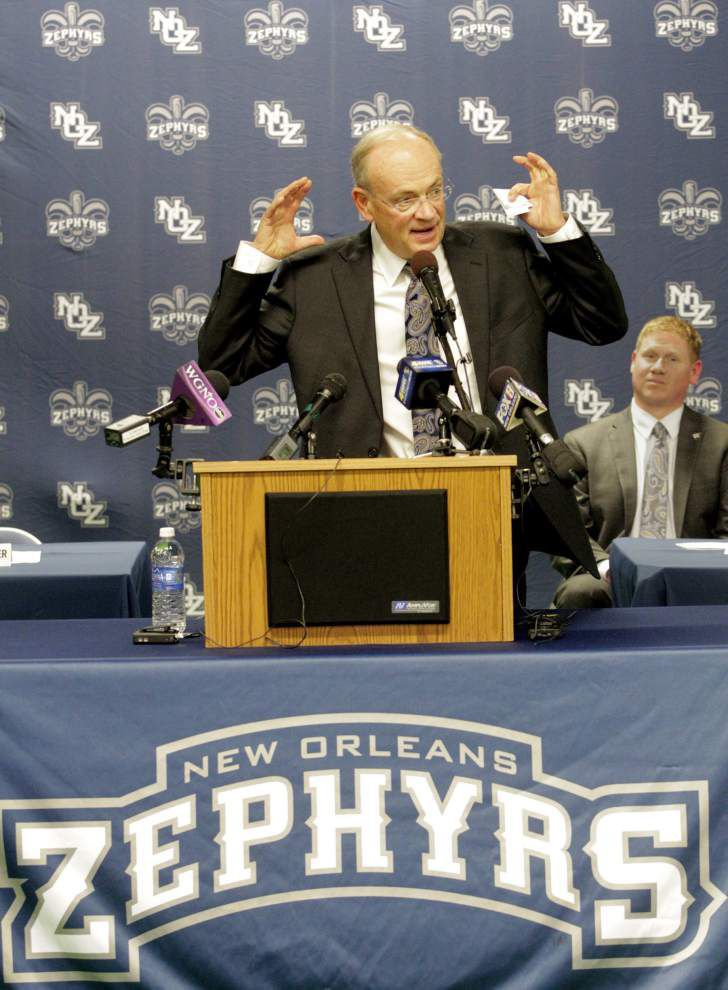 New owner Lou Schwechheimer tasked with turning New Orleans Zephyrs around _lowres