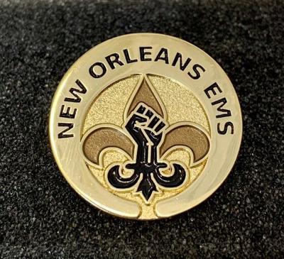 New Orleans EMS Black Lives Matter pin