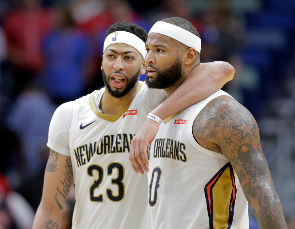 huge selection of cb0b7 e8d1a Kushner: DeMarcus Cousins' Achillies' injury ended up ...