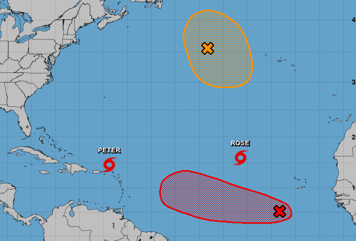 Only 4 storm names left on regular list as tropics heat up with 4 systems; see forecast