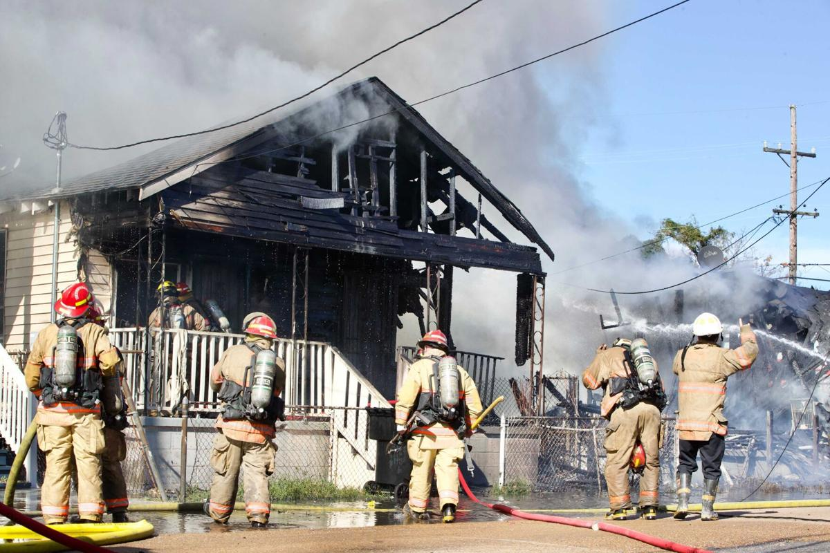 Fire in Central City on Nov. 18, 2020