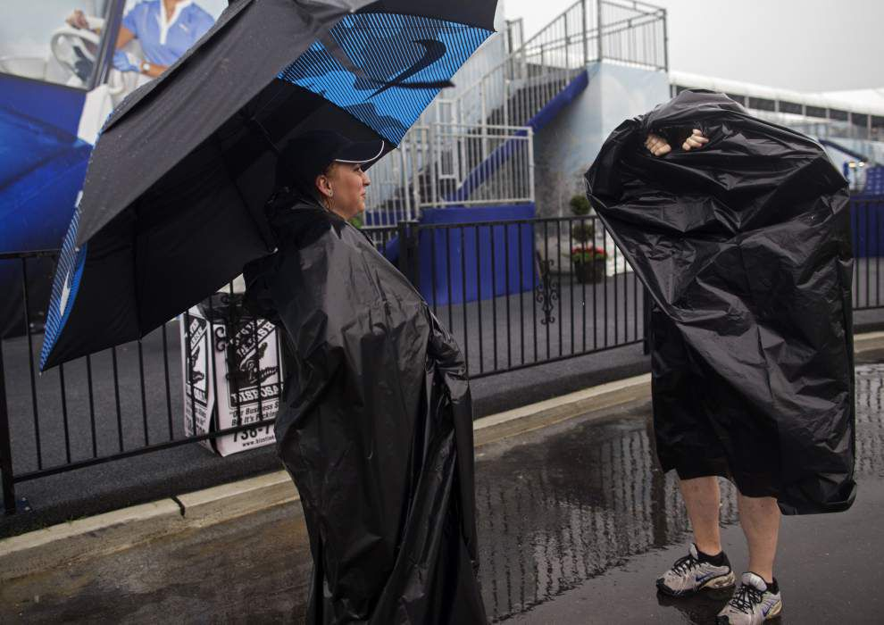 Rain won't relent at Zurich Classic, which may stretch to Monday since 36 holes remain _lowres