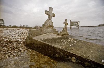 Leeville cemetery