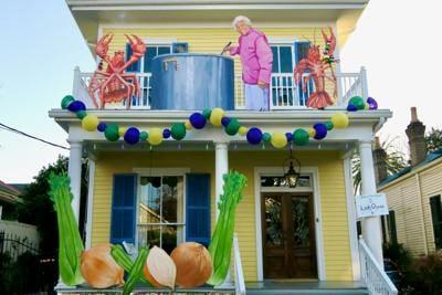 leah chase house float