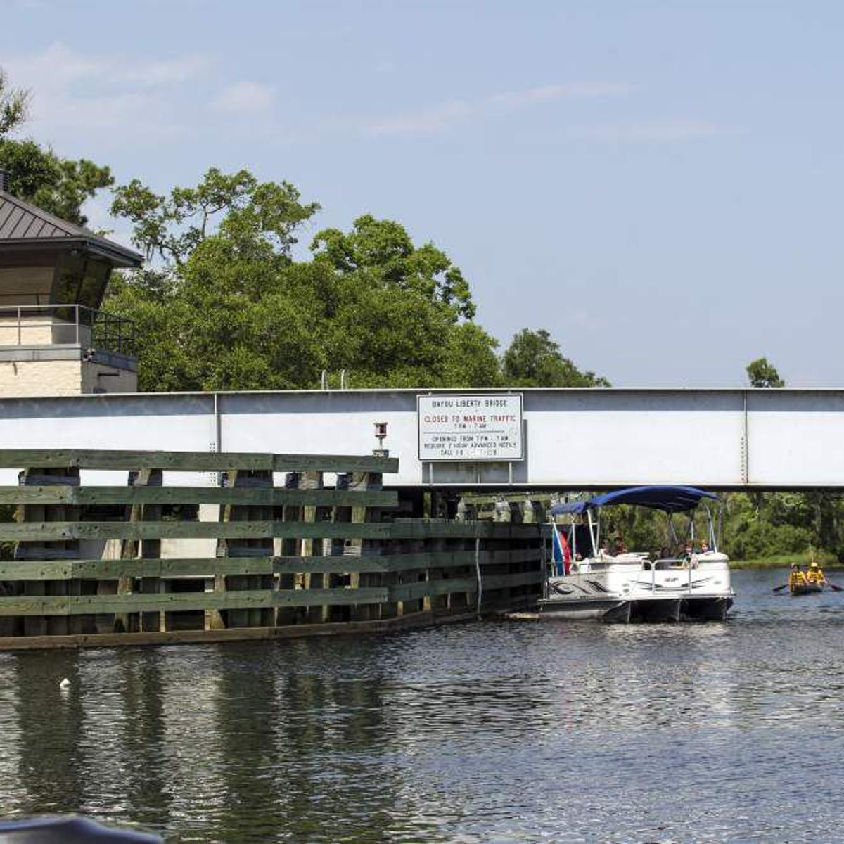 Bayou Liberty Road, Fairview-Riverside State Park reopen as high