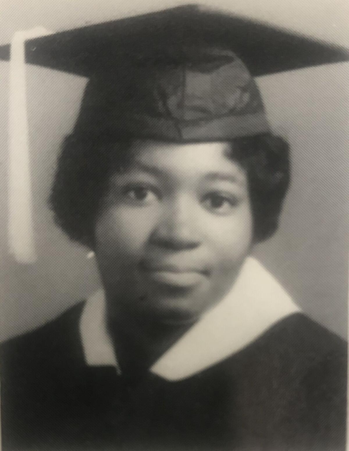 Green Davis 1966 graduation photo