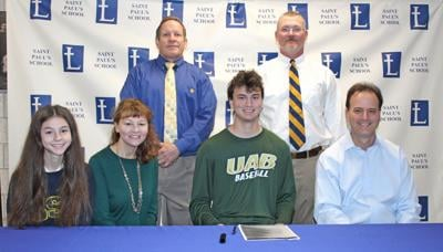 St. Paul's Nick Wright signs with UAB