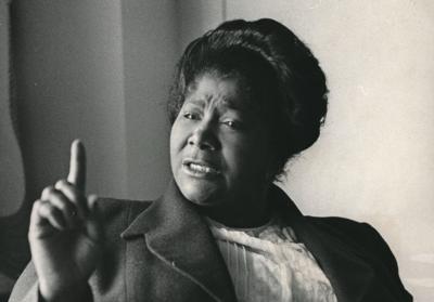 Mahalia Jackson's funeral (copy)