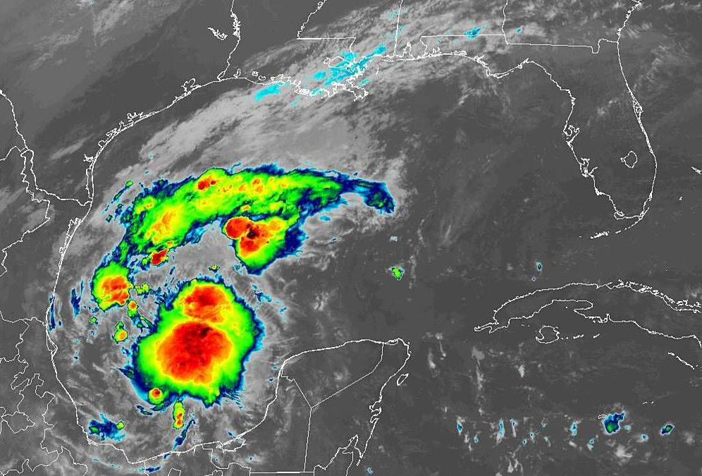 tropical weather gulf of mexico 10 am