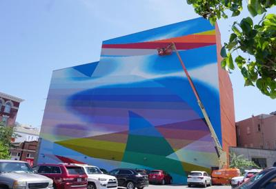 Fantastical Camp Street mural was kind of caused by Jimmy Buffett (copy)