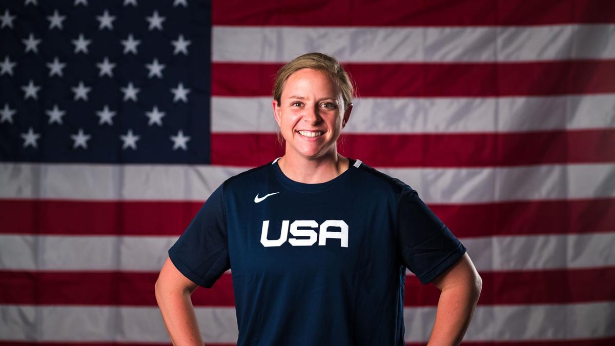 Fontainebleau alum Jade Hewitt is Team USA Softball official photographer