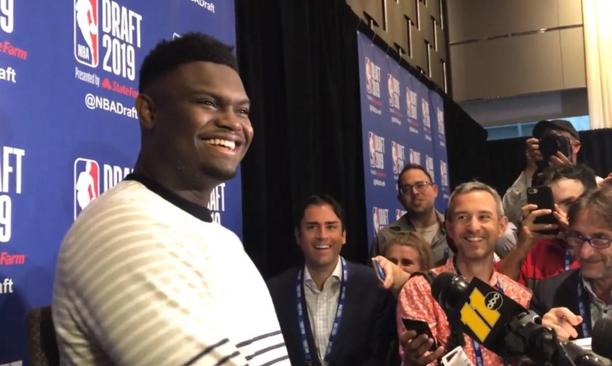 With Hours Left Before Draft Zion Williamson Is Staying