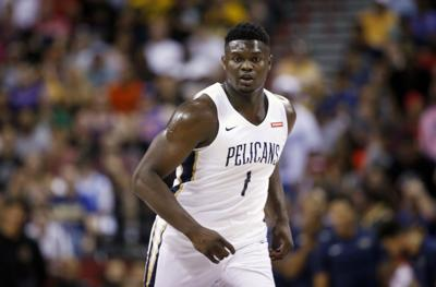 Médula Conjugado haz  How big is Zion Williamson's Jordan Brand shoe deal? It's rewriting record  books, report says | Pelicans | nola.com