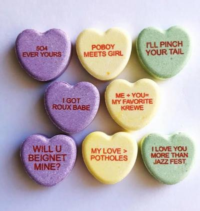 What sweethearts: New Orleans candy fills Valentine void