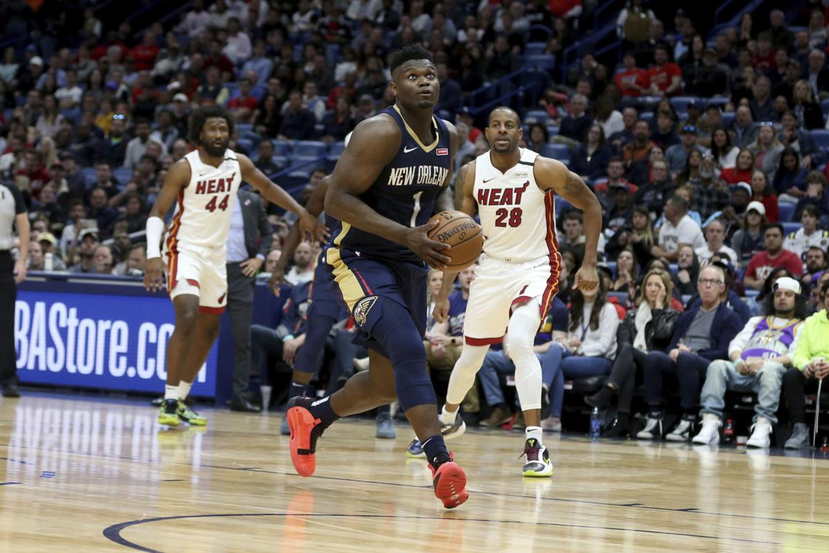 Heat Pelicans Basketball