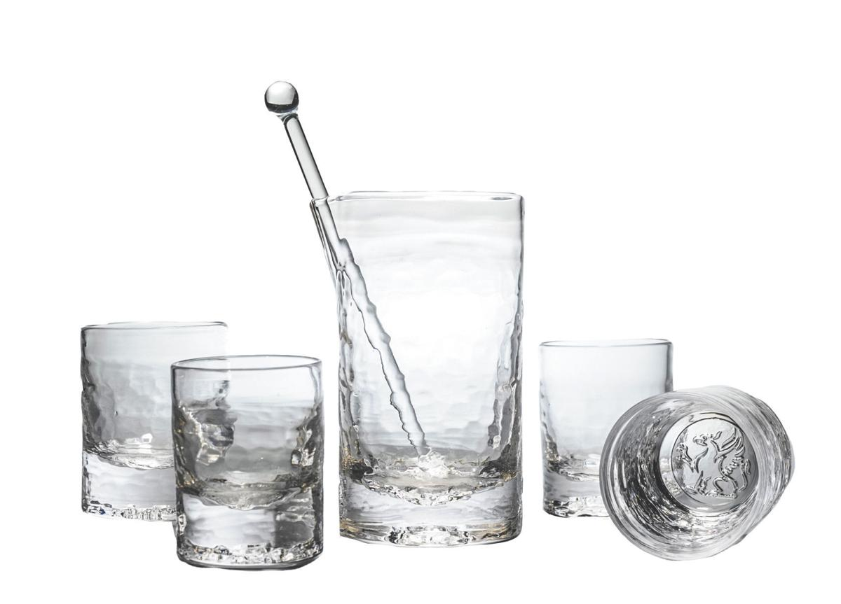 Bar glass set by Ben Dombey