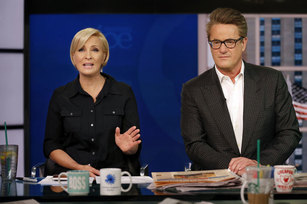 MSNBC's 'Morning Joe' anchors wed in secret ceremony at National Archives: report