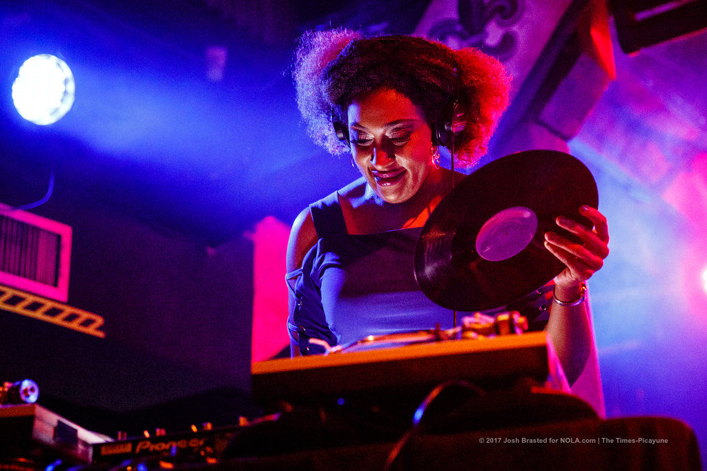DJ Soul Sister + DJ Jazzy Jeff = Right on party situation at Tipitina's