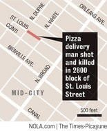 Slaying of Domino's delivery driver appears to be random carjacking, employer says