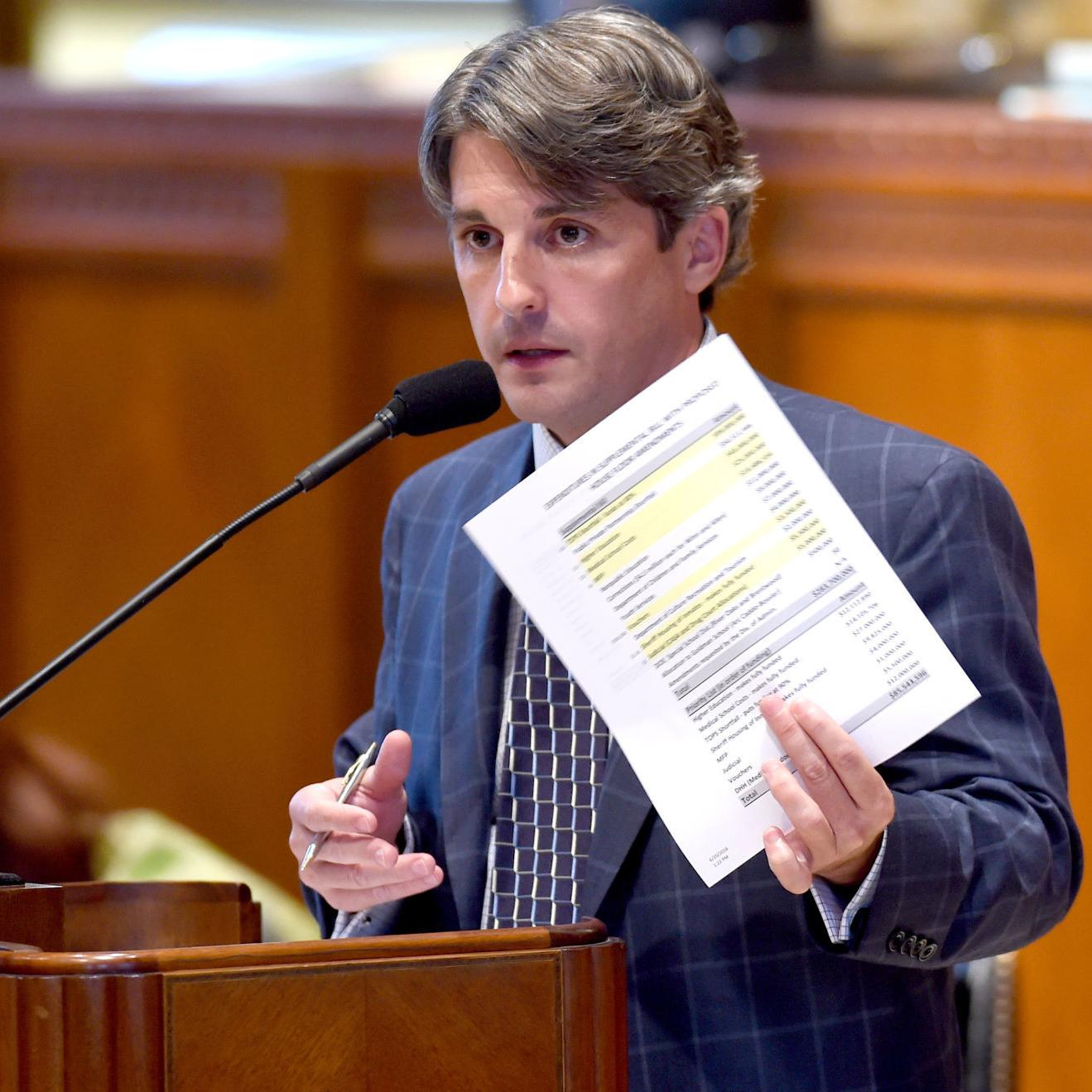 Louisiana state Rep  Cameron Henry doing business with firm