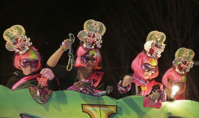 Krewe of Nyx Parade Mystic Krewe of Nyx Mardi Gras parade (copy)