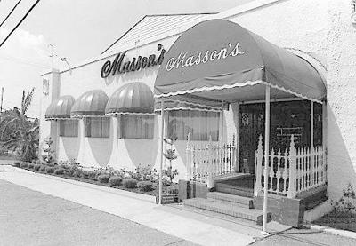Do you remember Masson's by the lake? A lost New Orleans restaurant