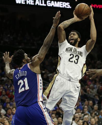 Pelicans 76ers Basketball