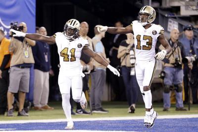 Saints Giants Football