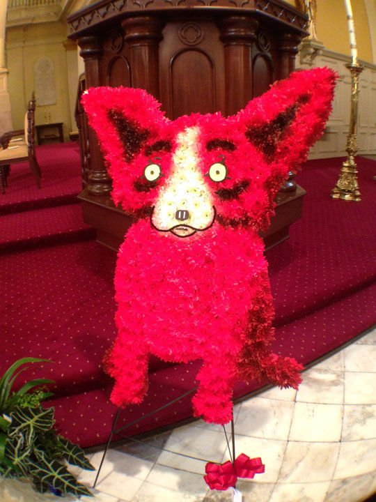 Scenes from George Rodrigue memorial Mass Thursday (Dec. 19) in New Orleans