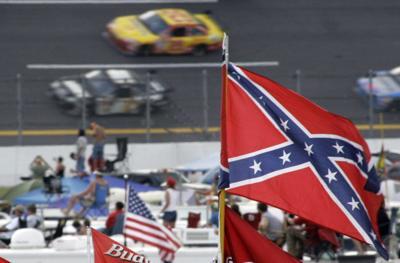 Confederate flag burned at Lee Circle, TV station reports