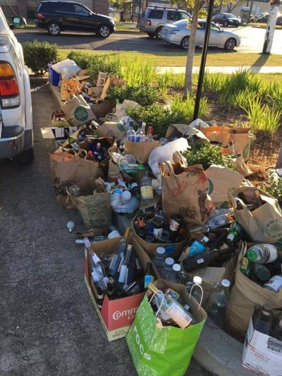 New Orleans suspends glass recycling at drop-off center