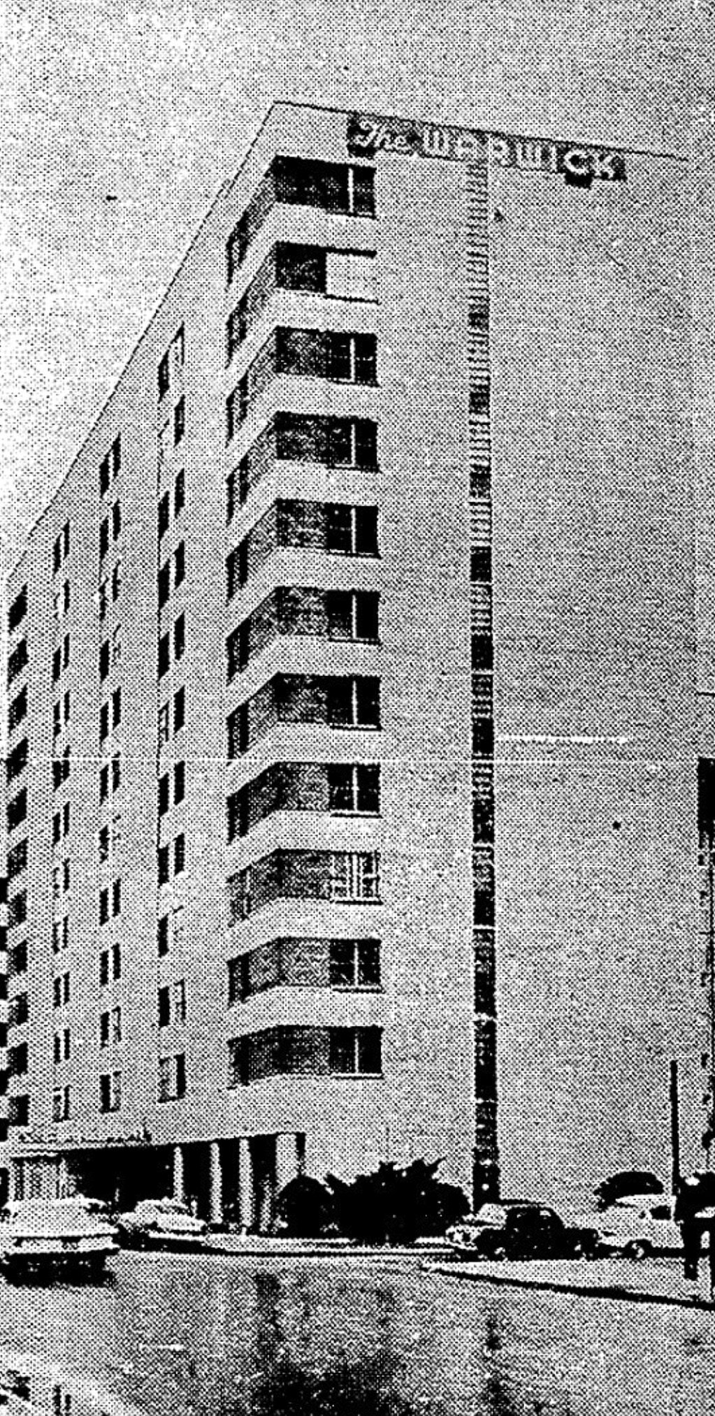 Warwick Hotel 1964
