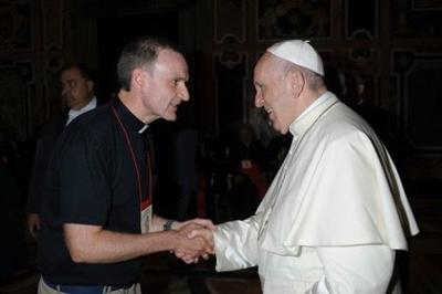 Pope Francis' climatologist visits New Orleans